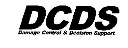 DCDS DAMAGE CONTROL & DECISION SUPPORT