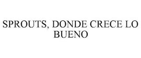 SPROUTS, DONDE CRECE LO BUENO