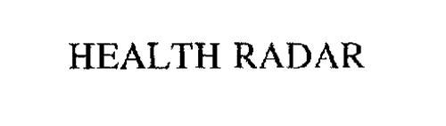 HEALTH RADAR