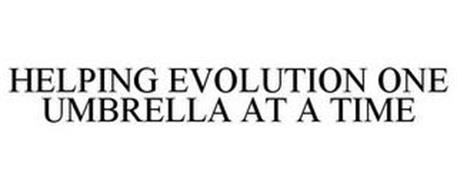 HELPING EVOLUTION ONE UMBRELLA AT A TIME