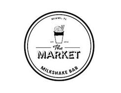 THE MARKET MILKSHAKE BAR EST. 2018 MIAMI, FL