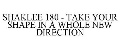SHAKLEE 180 - TAKE YOUR SHAPE IN A WHOLE NEW DIRECTION
