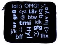 LOL :) OMG! :-* <3 LUV YA BFF THX J/K UR GR8 CYA L8R BRB @ BTW TMI IDK :( TTYL GTG ;-)