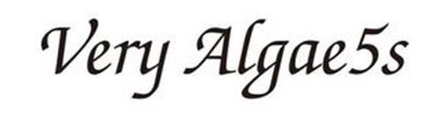 VERY ALGAE5S