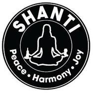 SHANTI PEACE · HARMONY · JOY