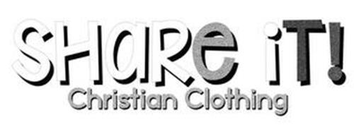 SHARE IT! CHRISTIAN CLOTHING