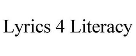 LYRICS 4 LITERACY