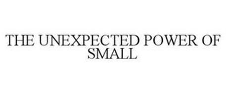 THE UNEXPECTED POWER OF SMALL
