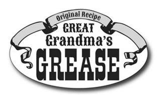 GREAT GRANDMA'S GREASE ORIGINAL RECIPE