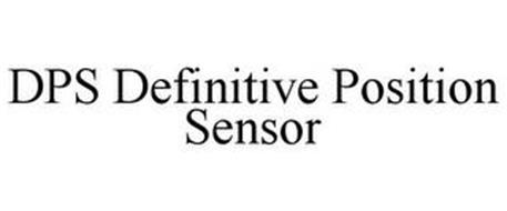 DPS DEFINITIVE POSITION SENSOR