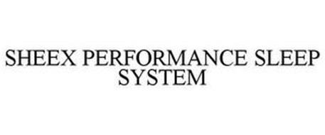 SHEEX PERFORMANCE SLEEP SYSTEM