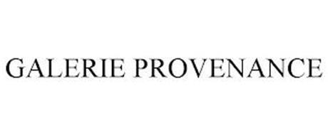 GALERIE PROVENANCE