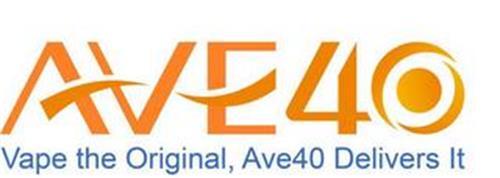 AVE40 VAPE THE ORIGINAL, AVE40 DELIVERSIT