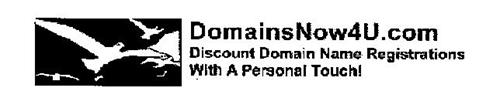 DOMAINSNOW4U.COM DISCOUNT DOMAIN NAME REGISTRATIONS WITH A PERSONAL TOUCH!