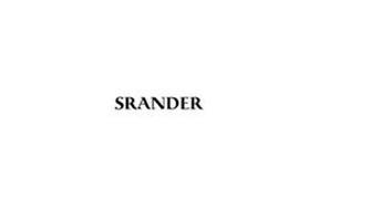 SRANDER