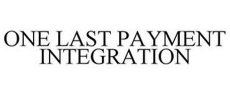 ONE LAST PAYMENT INTEGRATION