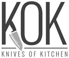 KOK KNIVES OF KITCHEN