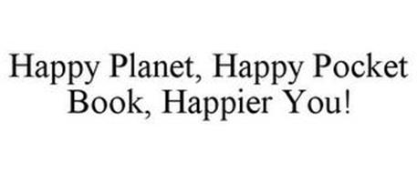 HAPPY PLANET, HAPPY POCKET BOOK, HAPPIER YOU!