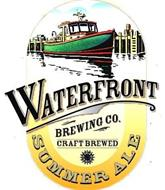 WATERFRONT BREWING CO. CRAFT BREWED SUMMER ALE