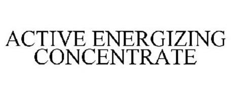 ACTIVE ENERGIZING CONCENTRATE