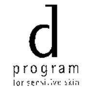 D PROGRAM FOR SENSITIVE SKIN
