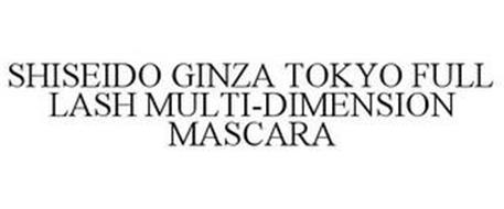 SHISEIDO GINZA TOKYO FULL LASH MULTI-DIMENSION MASCARA