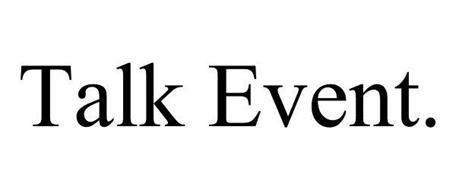 TALK EVENT.