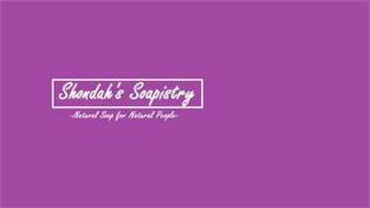 SHONDAH'S SOAPISTRY -NATURAL SOAP FOR NATURAL PEOPLE-