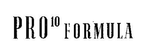 PRO 10 FORMULA