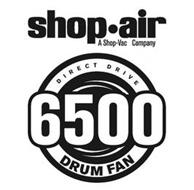 SHOP·AIR A SHOP-VAC COMPANY DIRECT DRIVE 6500 DRUM FAN