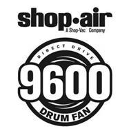 SHOP·AIR A SHOP-VAC COMPANY DIRECT DRIVE 9600 DRUM FAN