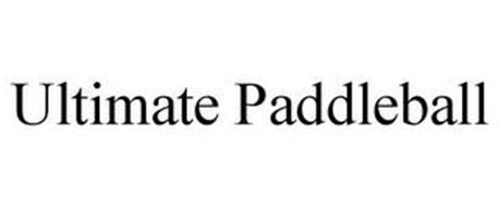 ULTIMATE PADDLEBALL