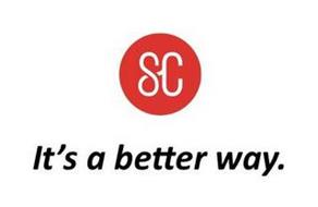 SC IT'S A BETTER WAY.