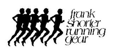 frank shorter running gear trademark of shorter frank. Black Bedroom Furniture Sets. Home Design Ideas