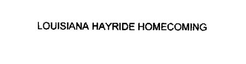 LOUISIANA HAYRIDE HOMECOMING