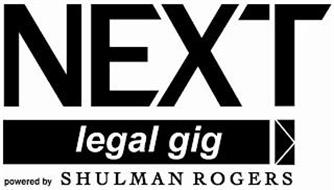 NEXT LEGAL GIG POWERED BY SHULMAN ROGERS