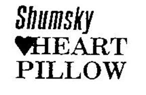 SHUMSKY HEART PILLOW