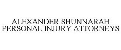 ALEXANDER SHUNNARAH PERSONAL INJURY ATTORNEYS