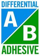 DIFFERENTIAL A/B ADHESIVE