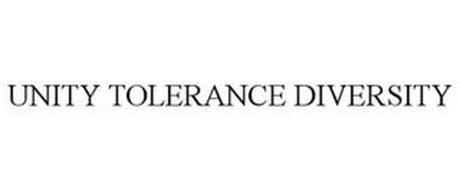 UNITY TOLERANCE DIVERSITY