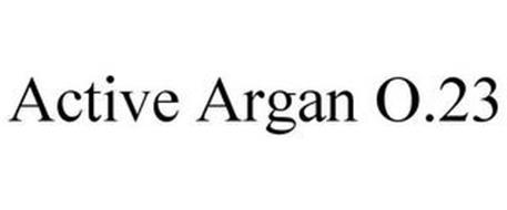 ACTIVE ARGAN O2.3