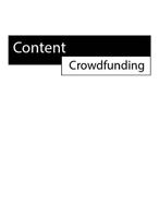 CONTENT CROWDFUNDING