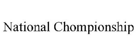 NATIONAL CHOMPIONSHIP