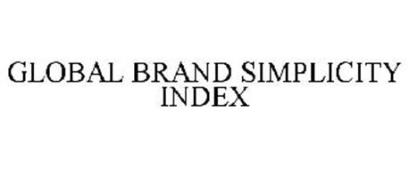 GLOBAL BRAND SIMPLICITY INDEX