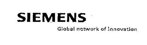 SIEMENS GLOBAL NETWORK OF INNOVATION