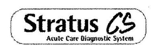 STRATUS CS ACUTE CARE DIAGNOSTIC SYSTEM