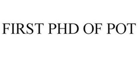FIRST PHD OF POT