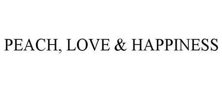 PEACH, LOVE & HAPPINESS