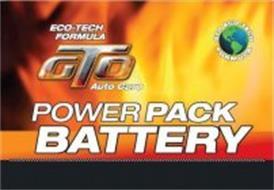 ECO-TECH FORMULA GTO AUTO CARE POWER PACK BATTERY GTO ECO-TECH·FORMULA