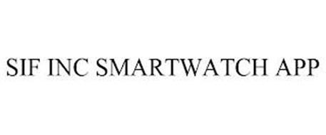 SIF INC SMARTWATCH APP
